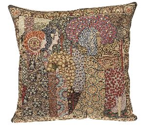 Phot of Aladin By Gustav Klimt Tapestry Cushion Ii