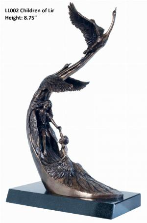 Photo of Children of Lir Bronze Sculpture Large 44 cm