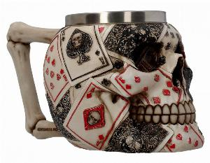 Photo of Dead Mans Hand Skull Tankard