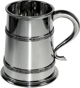 Photo of Double Celtic Band Medium Tankard