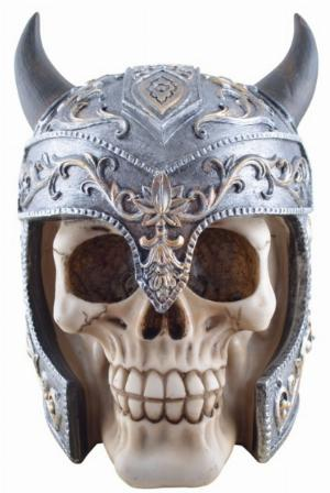 Photo of Elven Warrior Skull Ornament