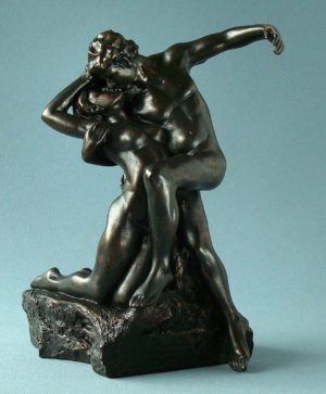 Photo of Eternal Spring Bronze Figurine (Rodin)