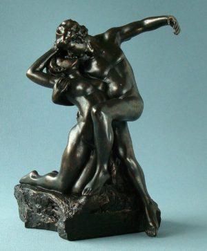 Photo of Eternal Spring Bronze Figurine (Rodin)