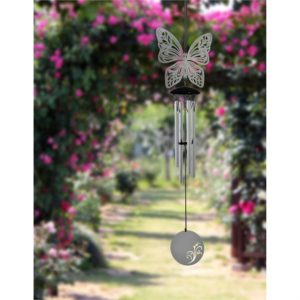 Photo of Flourish Chime Butterfly Wind Chime (Woodstock)