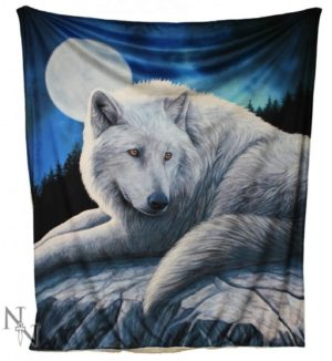Photo of Guardian of The North Wolf Throw (Lisa Parker) 160cm Large