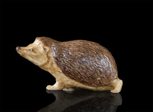 Photo of Hedgehog Hand Painted Fine Bone China Miniature Figurine
