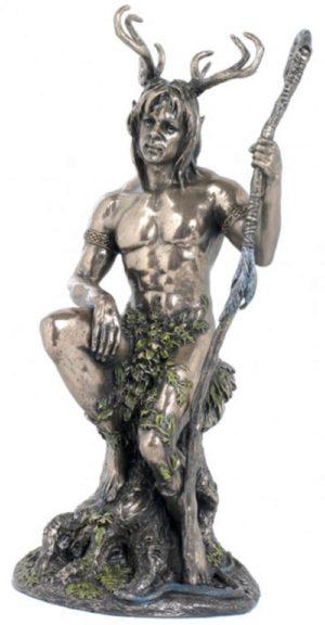 Photo of Herne the Hunter Bronze Figurine