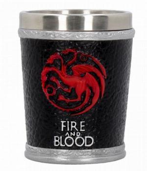 Photo of House Targaryen Shot Glass Fire and Blood