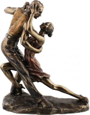 Photo of Juliana Tango Forward Bow Position Bronze Figurine
