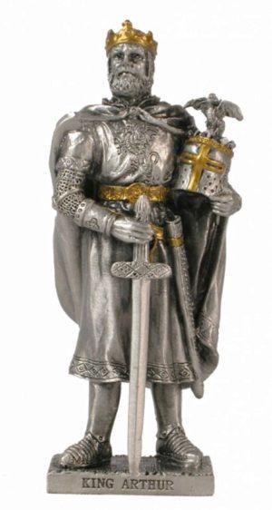 Photo of King Arthur Pewter Figurine