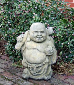 Photo of Large Travelling Buddha Stone Statue
