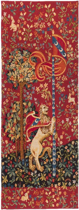 Phot of Lion Medieval Wall Tapestry