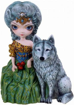 Photo of Loup Garou La Grande Pretresse Gothic Figurine Limited Edition Jasmine Becket-Griffith