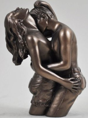Photo of Loves Pleasure Bronze Figurine (Love is Blue) 10cm Small