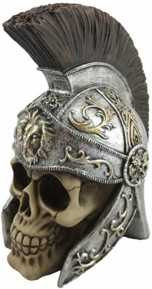 Photo of Maximus Roman Centurion Skull Ornament