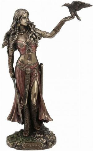 Photo of Morrigan and Crow Figurine 28cm
