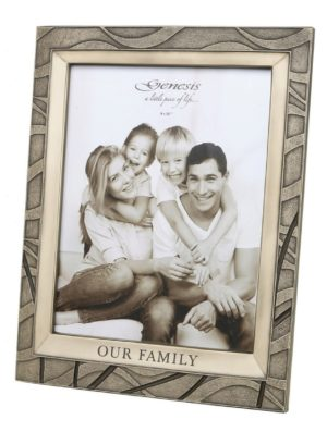Photo of Our Family Bronze Photo Frame 10 x 8 Inches.