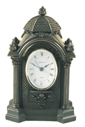 Photo of Oval Bronze Clock