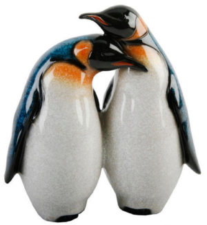 Photo of Pair of Penguins Stone-Effect Figurine by Juliana