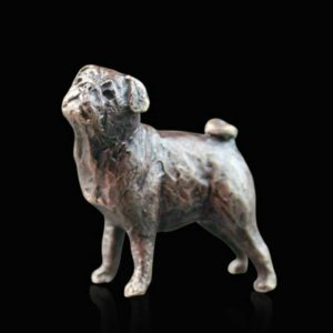 Photo of Pug Bronze Miniature (Butler and Peach)