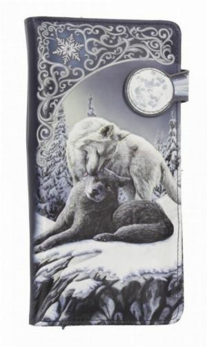 Photo of Snow Kisses Embossed Wolf Purse (Lisa Parker) 18cm