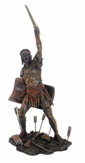 Photo of Spartacus Bronze Figurine 32 cm