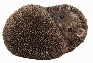 Photo of Spike Hedgehog Resting Bronze Sculpture (Thomas Meadows)