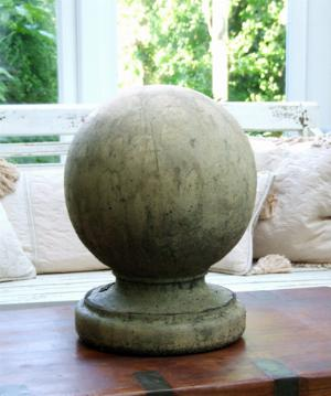 Photo of Stone Ball Finial