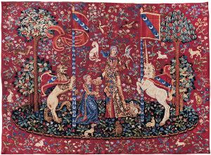 Phot of The Taste Medieval Wall Tapestry