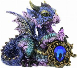 Photo of Tyrian Blue Dragon Figurine (Alator)