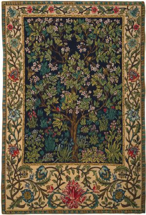 Phot of William Morris Tree of Life Wall Tapestry II