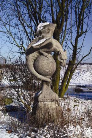 Photo of Wyvern Stone Sculpture