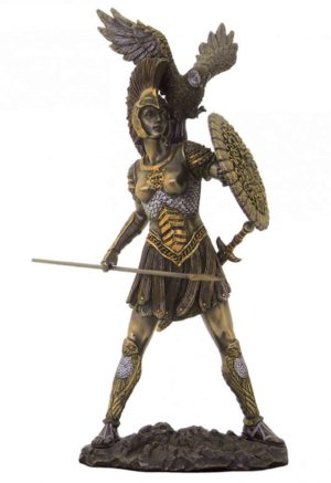 Photo of Athena Bronze Statue