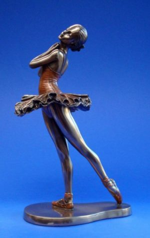 Photo of Ballerina Balance Bronze Figurine
