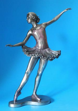 Photo of Ballerina En Arriere Bronze Figurine