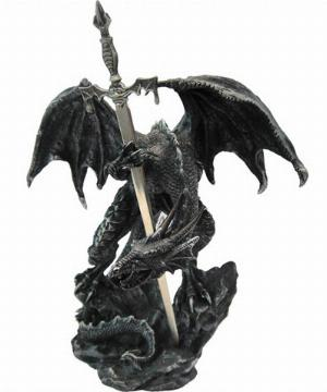 Photo of Black Dragon Letter Opener