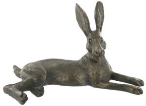 Photo of Bluebell Hare Bronze Sculpture (Harriet Glen)