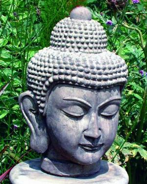 Photo of Buddha Head Stone Ornament