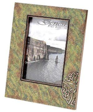 Photo of Celtic Bronze Frame (Photo size 7 x 5)
