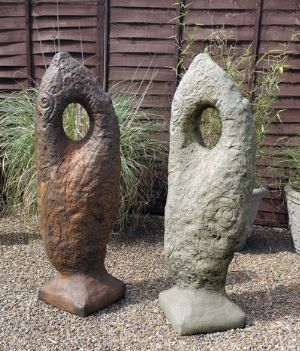 Phot of Celtic Stone Sculpture