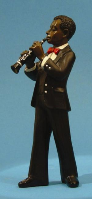 Photo of Clarinet Player All That Jazz Figurine