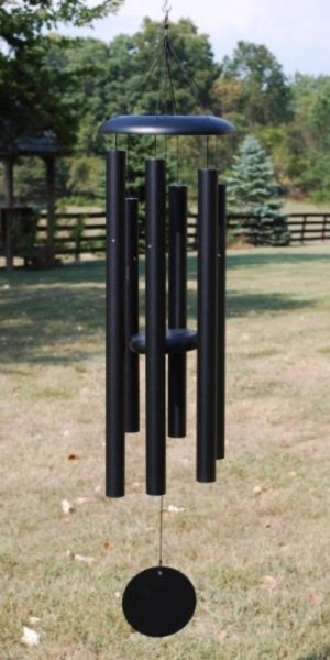 Photo of Corinthian Wind Chime 44 inches (Black)