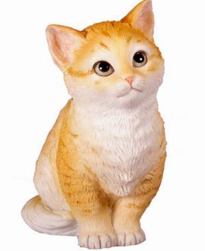 Photo of Cute Kitten Figurine (Willow Hall)