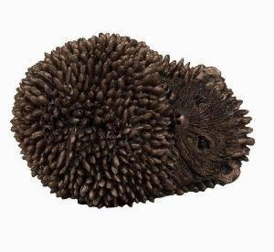 Photo of Dizzy Hoglet Sleeping Bronze Figurine small hedgehog (Thomas Meadows) Frith Minima