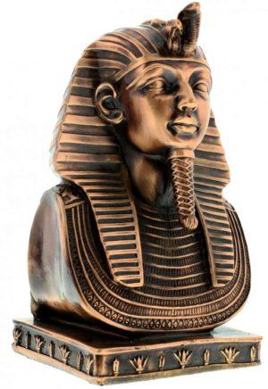 Photo of Egyptian Tutankhaman Bust Figurine Heavyweight (Juliana)