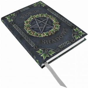 Photo of Embossed Book of Shadows Ivy A5 Journal
