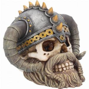Photo of Erik Viking Skull Ornament 15cm