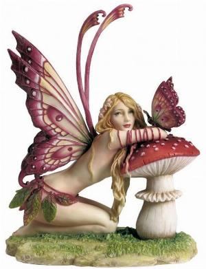 Photo of Fairy and Mushroom Figurine (Selina Fenech) 17cm