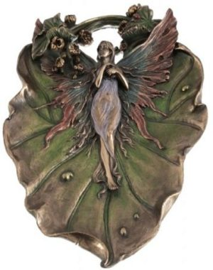 Photo of Fairy Decorative Plate Bronze
