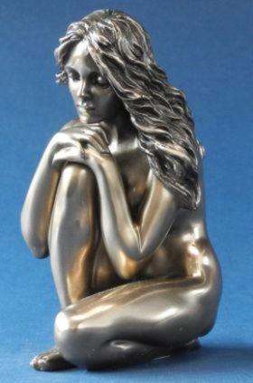 Photo of Fond Memories Bronze Nude Figurine